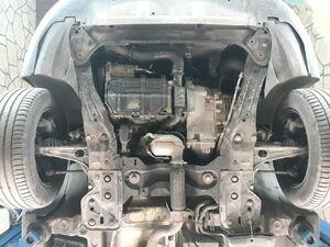 Защита двигателя Citroen C8 - фото №3