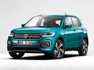 Защита двигателя Volkswagen T-Cross - фото №1