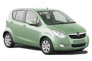 Защита двигателя Opel Agila B - фото №2
