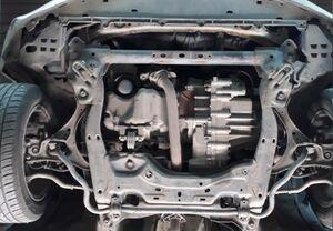 Защита двигателя Honda Civic 8 4D седан - фото №7