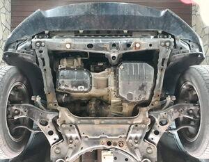 Защита двигателя Toyota RAV4 3 - фото №3