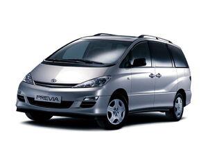 Защита двигателя Toyota Previa - фото №1