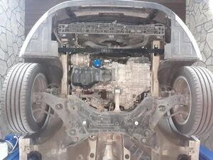 Защита двигателя Hyundai Grandeur 5 - фото №4