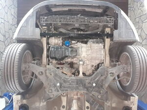 Защита двигателя Hyundai Sonata 6 YF - фото №6