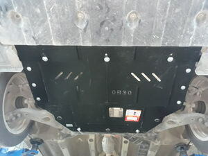 Защита двигателя Hyundai Sonata 6 YF - фото №7