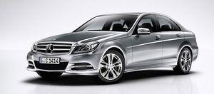 Защита двигателя Mercedes-Benz C-class W204 - фото №1