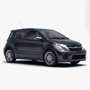 Защита двигателя Toyota XA - фото №1