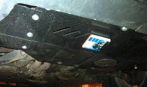 Защита двигателя Audi 80 B3 - фото №6