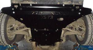 Захист двигуна Audi A4 B8 - фото №6