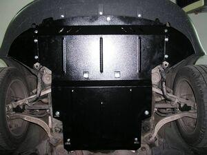 Защита двигателя Audi A4 B7 - фото №5