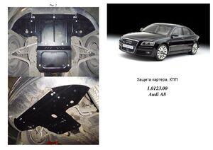 Защита двигателя Audi A8 D3 - фото №7