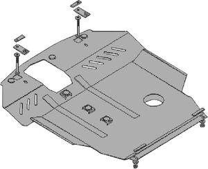 Защита двигателя Chery Elara 2 - фото №2