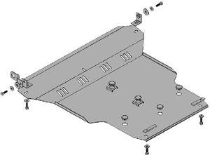 Защита двигателя Chery Tiggo - фото №2