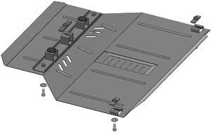 Защита двигателя Chery Х1 - фото №2