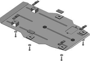 Защита двигателя Chevrolet Camaro - фото №2