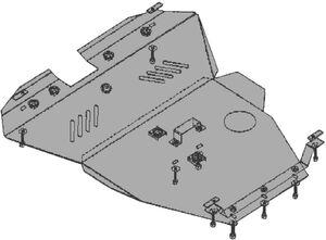 Защита двигателя Chevrolet Epica - фото №2