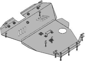 Защита двигателя Chevrolet Evanda - фото №2