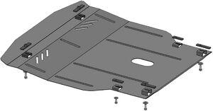 Защита двигателя Chevrolet Lacetti (Nubira) - фото №2