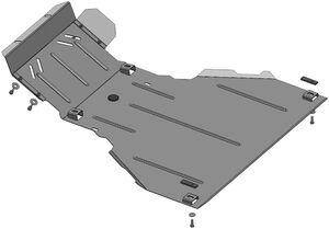 Защита двигателя Chevrolet Niva - фото №2