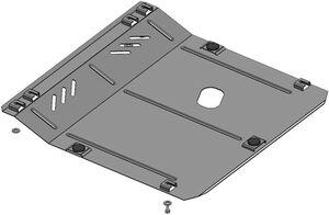Защита двигателя Chevrolet Tracker - фото №2